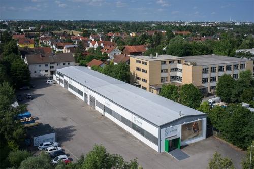 Merzendorfer Firmengebäude München
