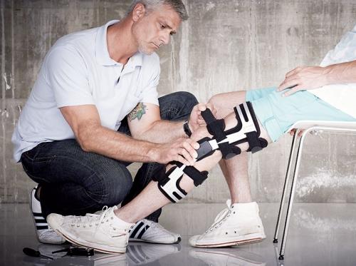 Anpassung Orthese